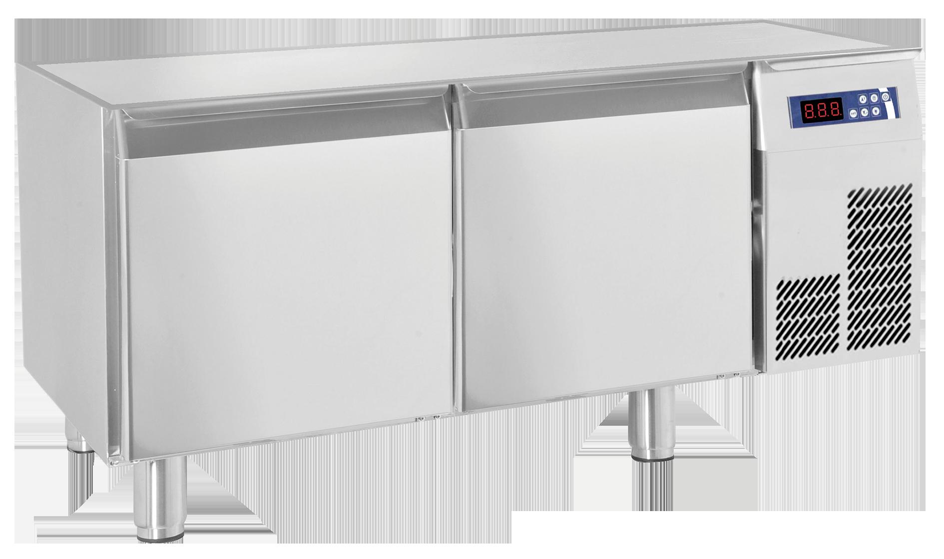 K hl unterbau 1t r 2 schubladen ohne arbeitsplatte kbs for Arbeitsplatte unterbau