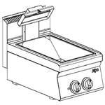 Elektro Frittenwanne  mit Infarot-Heizkörper Tischgerät - 10214305 - KBS Gastrotechnik