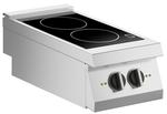 Induktions-Kochfläche 2 Platten Auftischgerät - 10411419 - KBS Gastrotechnik