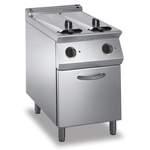 Elektro-Fritteuse 2 Becken je 15 L Standgerät 24kW - 10414309 - KBS Gastrotechnik