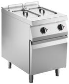 Elektro-Fritteuse 2 Becken  je 10 Liter Standgerät 18kW - 10414407 - KBS Gastrotechnik