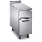 Neutralelement B 400mm ohne Schublade offener Unterbau - 10509404 - KBS Gastrotechnik