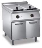 Elektro-Fritteuse 2 Becken je 22 L Standgerät 24kW - 10514405 - KBS Gastrotechnik