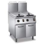Gas-Fritteuse 2 Becken 23 L Standgerät 42kW elektr. Steuerung - 10524409 - KBS Gastrotechnik