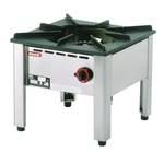 Hockerkocher 1 Hochleistungsbrenner mit 13kW - 10823003 - KBS Gastrotechnik