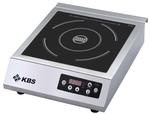 10911009 Induktions-Kochfläche 3,5kW Folientaster KBS Gastrotechnik