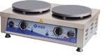 Crepiere  elektro 2 Platten Ø40 cm - 10961023 - KBS Gastrotechnik