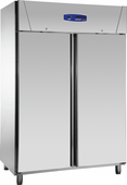 Edelstahlkühlschrank 2türig KU 1414 TW - 111416 KBS-Gastrotechnik