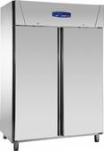 Edelstahlkühlschrank 2türig KU 1420 - 111444 KBS-Gastrotechnik