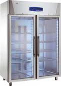 Edelstahlkühlschrank 2türig KU 1420 G - 111445 KBS-Gastrotechnik
