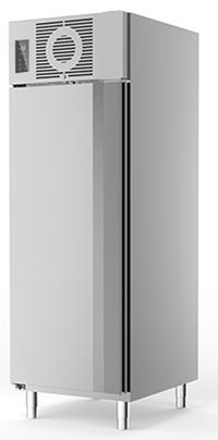 Edelstahl Tiefkühlschrank TKU 725 linksanschlag - 120754L - KBS Gastrotechnik