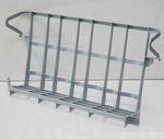 Glaseinsatz für Körbe 50x50cm aus Kunststoff - 121012 - KBS Gastrotechnik