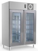 Edelstahl Glastürtiefkühlschrank TKU 1425 G  - 121418 - KBS Gastrotechnik