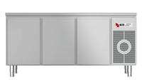 Kühltisch mit Arbeitsplatte KTF 3210 M - 152310 - KBS Gastrotechnik