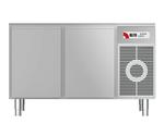 Kühltisch mit Arbeitsplatte KTF 2210 O Zentralkühlung - 153210 - KBS Gastrotechnik