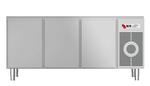 Kühltisch ohne Arbeitsplatte KTF 3200 O Zentralkühlung - 153300 - KBS Gastrotechnik