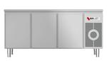 Kühltisch mit Arbeitsplatte KTF 3210 O Zentralkühlung - 153310 - KBS Gastrotechnik