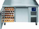 BKTF 2020 M Bäckereikühltisch Arbeitsplatte und Aufkantung - 170220 - KBS Gastrotechnik