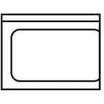 Universal-Ablauftisch  - 20390014 - KBS Gastrotechnik