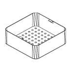 Korb für Becken 500x400x70mm - 20390019 - KBS Gastrotechnik