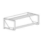 Geschirrkorbbord  - 20390022 - KBS Gastrotechnik