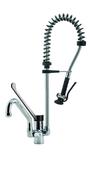 Einhebel-Geschirrwaschbrause 3/8 Zoll Wasseranschluß Höhe 80cm - 20921009 - KBS Gastrotechnik