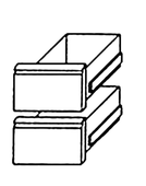 Bäckereikühltisch BKTF Serie Schubladensatz 1/2 + 1/2 - 212017 - KBS Gastrotechnik