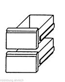 Schubladensatz 2x 1/2 GN 1/1 TKTF werkseitiger Einbau - 216012 - KBS Gastrotechnik