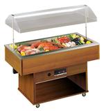Fischkühlvitrine Delizie Fisch - 23202007 - KBS Gastrotechnik