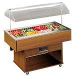 Salatbar Delizie mit manueller Haubenöffnung - 23202025 - KBS Gastrotechnik