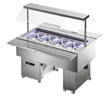 Salatbar Isola 4M VT Inox - 23500150 - KBS Gastrotechnik