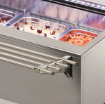 Salatbar Isola 6M VT Tablettrutsche Rundrohr - 23500157 - KBS Gastrotechnik