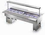 Salatbar Isola 8M VT Inox - 23500160 - KBS Gastrotechnik