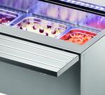 Salatbar Isola 8M VT Tablettrutsche - 23500161 - KBS Gastrotechnik