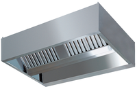 Zentralhaube Kubusform 300x220cm Flammschutzfilter Typ A - 30223013 - KBS Gastrotechnik