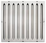 Hochwiderstands-Flammschutzfilter CNS, Typ A 400x500x20 mm - 30540007 - KBS Gastrotechnik