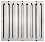 Hochwiderstands-Flammschutzfilter CNS, Typ A 400x400x40 mm - 30540010 - KBS Gastrotechnik