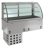 Einbauvitrine mit Kühlwanne E EKVW 2A GN 2/1 356120 KBS Gastrotechnik
