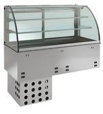 Einbauvitrine mit Kühlplatte E EKVP 2A GN 2/1 358120 KBS Gastrotechnik