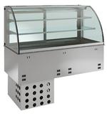 Einbauvitrine mit Kühlplatte E EKVP 2A GN 3/1 358130 KBS Gastrotechnik