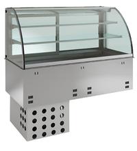 Kühlplatte geschlossen E-EKVP 2A GN 4/1 Kühlvitrine - 358140 - KBS Gastrotechnik