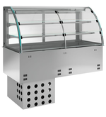 Einbauvitrine mit Kühlplatte E EKVP 2A GN 2/1 SB 362120 KBS Gastrotechnik