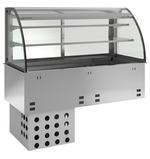 Kühlwanne kundenseitig offen E-EKVW 2A GN 2/1 OP Kühlvitrine - 364120 - KBS Gastrotechnik
