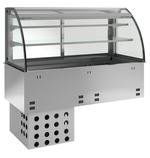 Kühplatte kundenseitig offen E-EKVP 2A GN 2/1 OP Kühlvitrine - 366120 - KBS Gastrotechnik