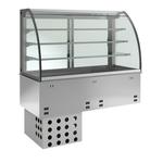 Einbauvitrine mit Kühlplatte E EKVP 3A GN 2/1 370120 KBS Gastrotechnik