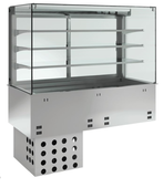 Einbauvitrine mit Kühlplatte P EKVP 3A GN 2/1 382120 KBS Gastrotechnik