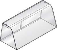 Hustenschutz neutral GN 3/1 für Einbauwanne und Einbauplatte - 392030 - KBS Gastrotechnik