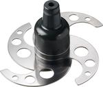 Emulsionsmesser 4 Klingen gelocht, mit Schaft - 40590028 - KBS Gastrotechnik