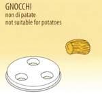 Nudelform Gnocch für Nudelmaschine 1,5kg - 50490004 - KBS Gastrotechnik