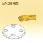 Nudelform Maccheroni für Nudelmaschine 1,5kg - 50490006 - KBS Gastrotechnik